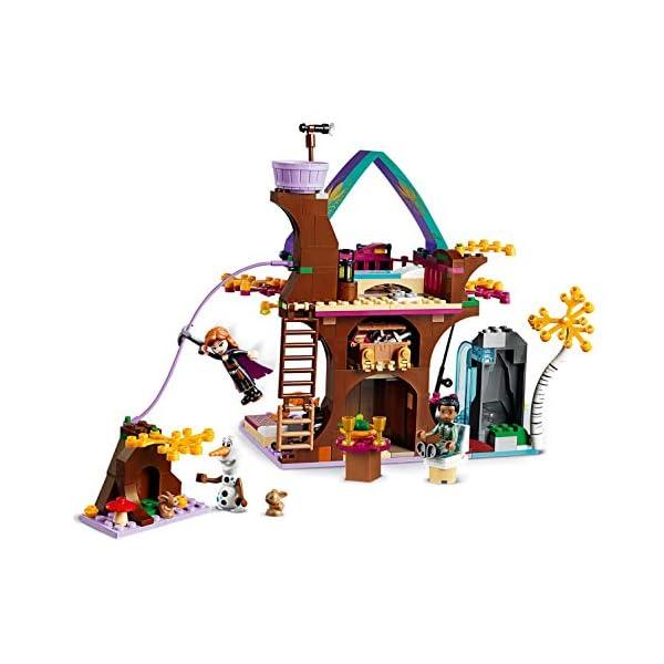 LEGO Frozen La Casa sull'albero Incantata 41164 Set di Costruzioni per Ricostruire la Magica Atmosfera di Frozen e… 4 spesavip