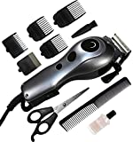 #7: Brite BHT-1400 Professional Electric Hair Trimmer Heavy Duty Grooming Set for Men, Women (Silver or MutliColor)