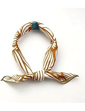 FLYRCX Simple moda señoras bufanda bufanda decorando 50cmx50cm