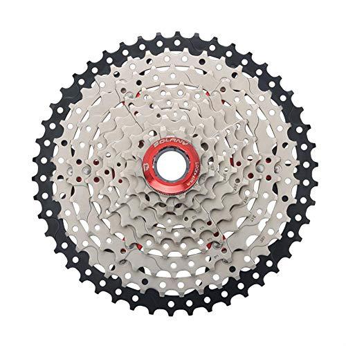 JUNERAIN 9-Fach Weitverhältnis 11-46T MTB Mountainbike Kassette Schwungrad Fahrrad Teile