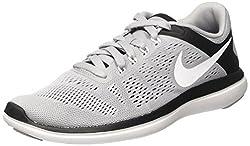 Nike Herren 830369-015 Laufschuhe Grau (Wolf Grey/White/Black) 43 EU