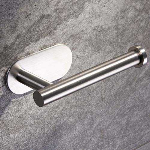 Ruicer Portarrollo para Papel Higiénico Autoadhesivo Portarrollos Baño Acero Inoxidable