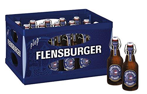 flensburger bier 20 x Flensburger Dunkel 0,33l, Bügelflasche 4,8% vol Originalkiste