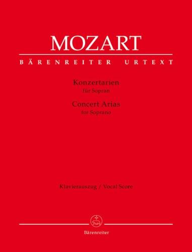 Airs de concert --- Soprano / Piano