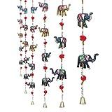 Jaipuri haat Handcrafted Elephant Door H...