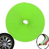 3D-Rollpaspel für Autofelgen, 8m, Grün