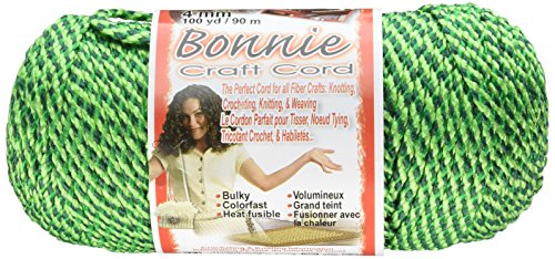 Unbekannt Pepperbell Bonnie Macrame Craft Cord 4mm X 100yd. -Lettuce