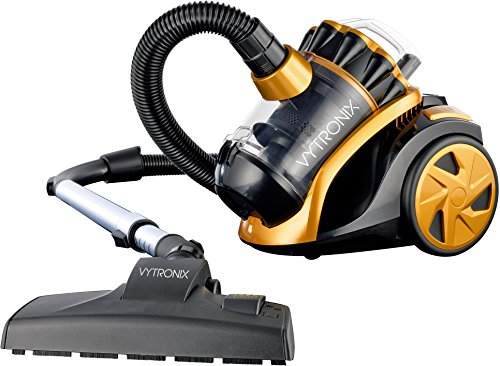 VYTRONIX VTBC01 1400w Compact Cyclonic Bagless Cylinder Vacuum Cleaner HEPA