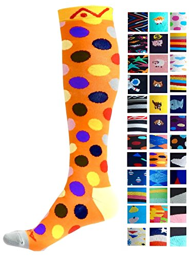 A-Swift Kompressions-Socken, Verlaufsfilter, sportliche Passform, fü
