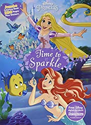 Disney Princess Time to Sparkle: Jumbo Coloring Book Plus Stickers