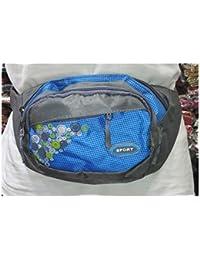 ZnM Small Messenger Bag Casual Belt Pouch Travel Organizer Bag Multi-pocket Purse Handbag Crossbody Bag Hiking... - B07CS2B2YK