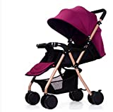 Klappkinderwagen kann liegen vier Sommer ultra-portable Handschiebe Wagen Buggy kleines Baby Kind bb...