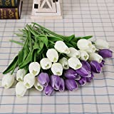 Generic 31pcs/lot Tulip Artificial Flowe...
