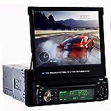 Autoradio Player M.Way Multimedia Player 7-Zoll Touch Screen Stereo Bluetooth FM /AM Radio Subwoofer TV Box Auto mp5 player Auto Player mit Drahtlose Fernbedienung Rückfahrkamera , USB Port, SD Port