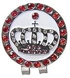 Golf Clip Kappe Kristall - Magnetkugelmarkierung