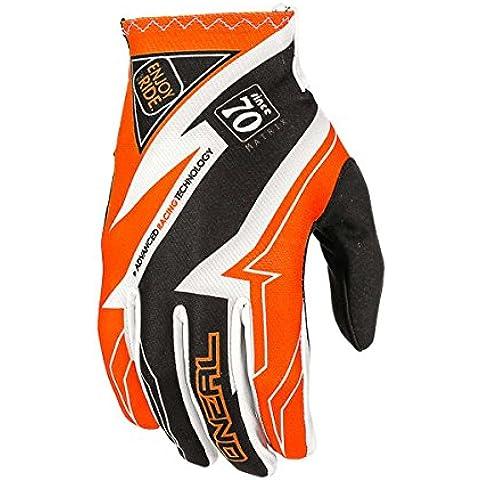 O'Neal Matrix Racewear Guantes de Bicicleta, Niños, Negro / Naranja, S