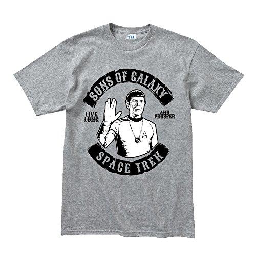Sons of Galaxy Star Live Long and Prosper (Voyager Kostüme Star Trek)