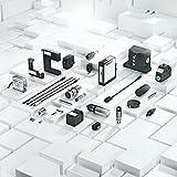 bos0159–optoelek Sensor Electrónico, infrarrojos, conector, abridor, NPN (1x),