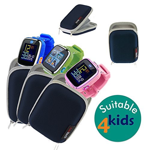 Navitech Blue Water Resistant, Child Resistant, Hard Case Cover For The VTech...