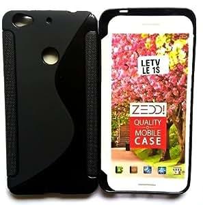 LeEco Le 1s Magic Brand S-Line Black Soft Silicon Back Cover Case