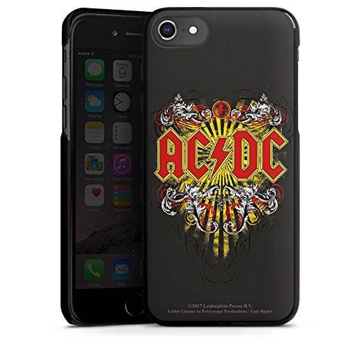 Apple iPhone 7 Plus Silikon Hülle Case Schutzhülle ACDC Danger Offizielles Lizenzprodukt Hard Case schwarz