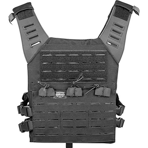 Valken Airsoft Light Weight Molle Plate Carrier LC Adjustable - Paintball Weste Olive