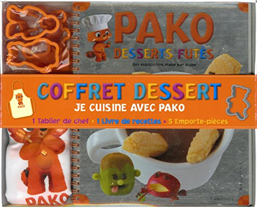 Coffret dessert : Je cuisine avec Pako