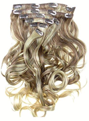 Extension per capelli biondi ondulati di 56cm