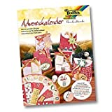 Adventkalender Bastelset FOLIA 9393 Geschenktasche