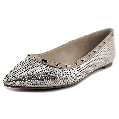 INC International Concepts Zabbie Femmes Synthétique Chaussure Plate Pearl Gold