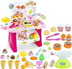higadget Kid's 34 Pieces Mini Supermarket Pretend Toy (Random)