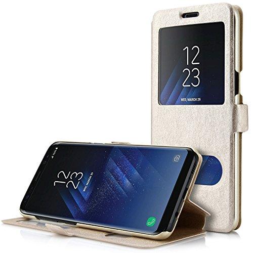 Samsung Galaxy S8 Plus Funda, Danibos Funda protectora case cover para Samsung Galaxy S8 Plus(Champagne Gold)