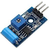 HALJIA SW-420 Vibrations-Sensor-Modul, Alarm-Sensor-Modul, Vibrationsschalter-Modul Bewegungsmelder-Modul für Arduino Raspberry Pi, normal geschlossen