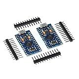 2x Pro Micro Modul mit ATmega32U4, Arduino Leonardo Board ähnlich, 5V, 16MHz (2 Stück)
