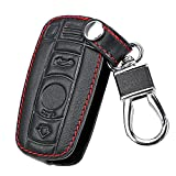 itimo Leder KFZ Schlüssel für BMW E90E60E70E87356Series M3M5x 1X5X 6Z4Fernbedienung Controller Auto Schlüssel Case Holder Schlüsselanhänger