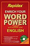 Rapidex Enrich Your Word Power and Improve Your English (With CD) price comparison at Flipkart, Amazon, Crossword, Uread, Bookadda, Landmark, Homeshop18