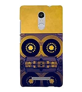 Cassette 3D Hard Polycarbonate Designer Back Case Cover for Xiaomi Redmi Note 3 :: Xiaomi Redmi Note 3 (3rd Gen)