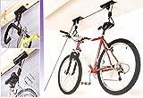 Fahrradlift, Metallkonstruktion, bis 4 m Deckenhöhe, mit Fallsicherung, Seilhalterung, Belastung bis max. 20 kg