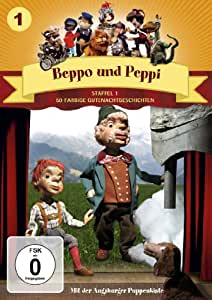 Beppo und Peppi, Staffel 1 (50 Folgen des Klassikers der Augsburger Puppenkiste auf 2 DVDs)
