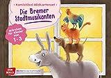 Die Bremer Stadtmusikanten. Kamishibai Bildkartenset.: M?rchen f?r Kinder von 1-3 (M?rchen f?r das Erz?hltheater mit Kindern unter drei Jahren)