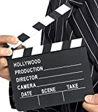 CIAK CINEMATOGRAFICO MINI IN LEGNO 20X18 CM HOLLYWOOD II SET FILM SCENOGRAFIA