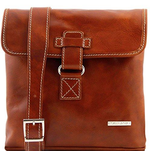Tuscany Leather Andrea Borsello in pelle a tracolla Rosso Miele