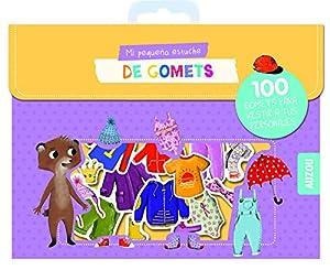 Auzou creatife- gomets, sticker, adhesivos, Multicolor (86547)