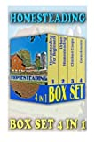Homesteading BOX SET 4 IN 1: 82 Essential Tips on How To Make Money From Your Homestead: (How to Build a Backyard Farm, Mini Farming Self-Sufficiency ... Urban farming, How to build a chicken coop,) by Imogen Ross (2015-11-06)