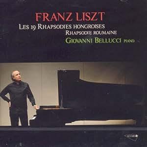 Liszt: Les 19 Rhapsodies Hongroises, Rhapsodie Roumaine (2 CD)