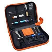 Adjustable Temperature 60w Electric Soldering Iron Welding Tool Kit