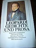 Gedichte und Prosa : ausgew. Werke.