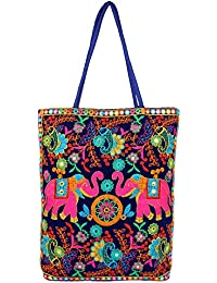 Ayeshu Embroided Multi Big Tote Bag E