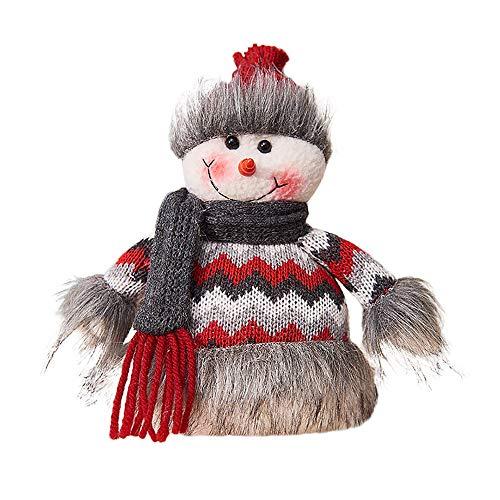 LoveLeiter Handgemachtes Sankt-Stoff-Puppen-Geburtstags-Geschenk FüR Dekoration Weihnachten Weihnachtsdekoration Handwerk -