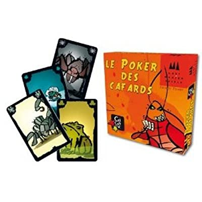 Gigamic - DRKPOK - Jeu de Cartes - Poker de Cafards